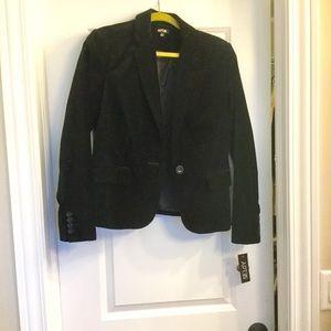 New black velvet jacket